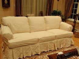 Slipcover For Sofa With Three Cushions by Living Room White Slipcovers For Sofas With Cushions Separate