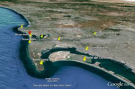 San Diego Map Of Hotels by San Diego Pacific Beach La Jolla Pt Loma Awaygowe Com
