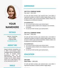 Resume Template Word Vibrant Creative Resume Template Docx 2 Universal Resume Template