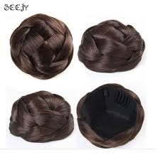 donut hair bun online shop wig hair scrunchy hair donut hair bun ring to blend