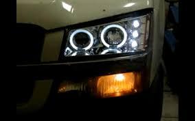 halo led lights jeep headlight rgb halo ring jeep off road 7 led
