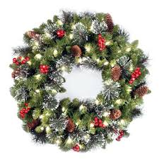 cordless wreath cordless lighted wreath with timer sumoglove