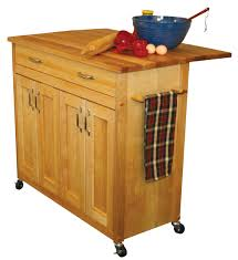 Kitchen Islands With Drop Leaf by Catskill Craftsmen Deep Island With Flat Panel Doors And Drop Leaf