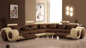 Modern Livingroom Furniture Sofa Chocolate Brown Living Room Sets Tamingthesat