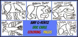 new eric carle coloring pages 35 about remodel free coloring kids