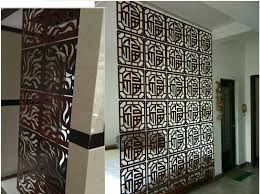 Hanging Room Divider Customized Carved Wood Room Divider Modern Hanging Room Divider