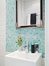 to get more fashionable and bright bathroom you can try the