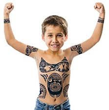 amazon com moana tribal temporary tattoos prizes and giveaways