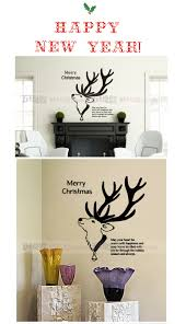 aliexpress com buy christmas wall decal quote merry christmas mcm063 1