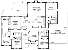 4 bedroom ranch style house plans ranch style house plan 4 beds 3 00 baths 3000 sq ft plan 124 856