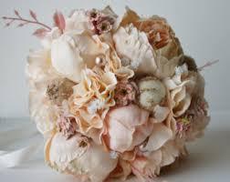 Fake Wedding Flowers Wedding Bouquets Etsy