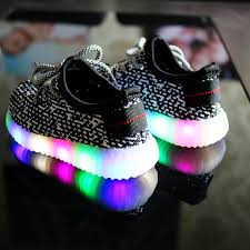 sneakers that light up on the bottom 2018 new fashion led light shoes children casual sport shoes soft