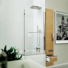 kudos inspire l shaped bathscreen 1500mm x 809mm kudos from uk