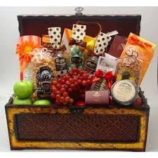 Gift Baskets Los Angeles Los Angeles Gift Basket Treasure Chest Of Gourmet Goodies Yelp
