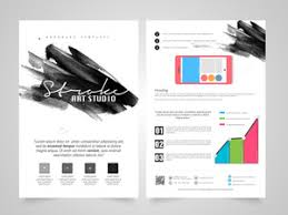 creative professional business brochure template or flyer