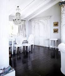 Traditional Dining Room Chandeliers Country Dining Room Design With White Table And White Chairs