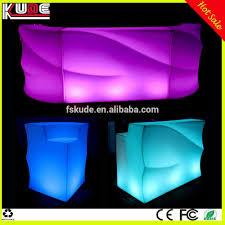 Led Light Bar Color Changing by Multi Color Changing Wave Shape Led Bar Counter Portable Bar