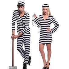 couples jail prisoner jailbird convict costume halloween hen