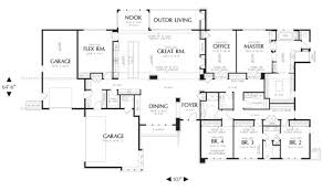 large ranch floor plans large ranch house plans style house plans 64588