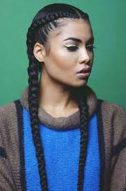 single plaits hairstyles one long braid hairstyles