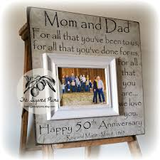 gifts for 50th wedding anniversary 50th wedding anniversary gifts for parents wedding ideas