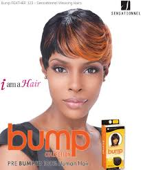 bump it hair feather 123 sensationnel bump