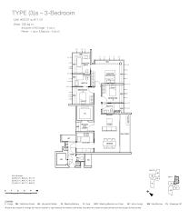 one balmoral 3 bedroom floor plan