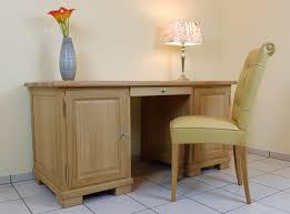 Schreibtisch Naturholz Schreibtisch In Eiche Buche Oder Kirschbaum Massiv Der