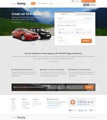 html5 templates for books renty car rental booking html5 template bestwebsoft