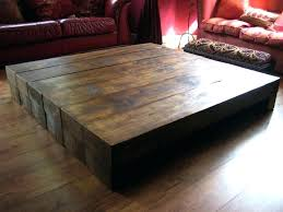 Square Wooden Coffee Table Oversized Square Coffee Table The Beautiful Pedestal Coffee Table