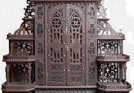 Etagere Antique Antique Fretwork Folk Art Eterger With Dressing Table Bonnin