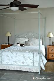 Paint Metal Bed Frame Gracefully Easy Steps In Painting An Iron Bed Frame