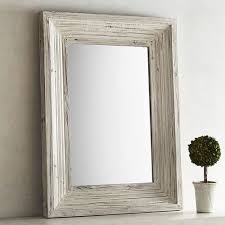 bailey farmhouse 30x40 wood framed mirror pier 1 imports
