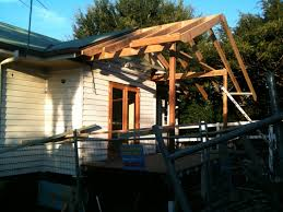 Shed Roof Over Patio by Modern Style Building A Roof Over A Patio With Zekaria Shed Roof