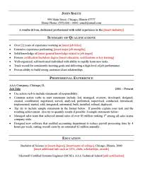 Resume Layout Sample by Resume Layout Samples