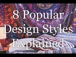types of design styles interior design styles 8 popular types explained hd youtube