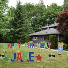 Birthday Lawn Decorations Yard Signs For Any Occasion Archives Yard Announcements