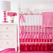 Pink Area Rugs For Baby Nursery Kids Room Modern Designs Over The Adorable Baby Bedding Set