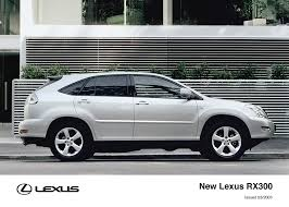 lexus rx300 vehicle stability control lexus rx300 sets new standards in luxury suv segment lexus uk