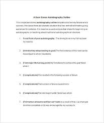 autobiography template 8 biography with picture template buyer