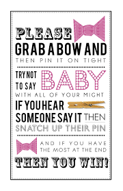 clothespin baby shower pink clothespin with bows for baby shower 5x7 8x10 pdf