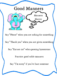 table manners for kids printable quotes about manners printable manners activities bunco score