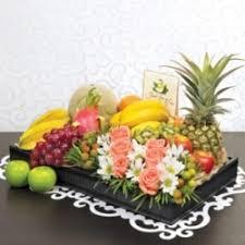 fruit basket arrangements of fruit flowers resultado de imagem para