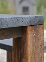 concrete and wood outdoor table concrete patio table images table decoration ideas