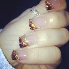 autumn nail acrylic nail design thanksgiving nails everything