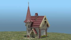 terressa cook 3d animator 3d artist fairy tale house