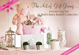 high end gift baskets newborn baby and shower designer gift baskets bellini