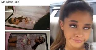 Ariana Grande Meme - hilarious ariana grande memes that give us life thethings