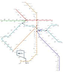 Red Line Metro Map by Delhi Metro Map And Route Of Orange Red Green Violet Blue