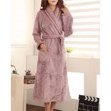 robe de chambre femme polaire peignoir femme polaire violet clair lepeignoir fr